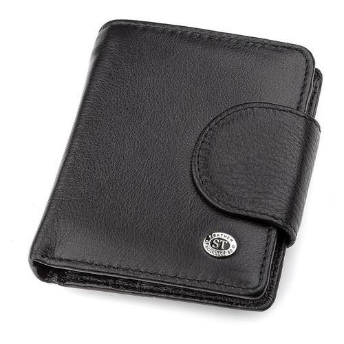 Женский кошелек ST Leather Accessories 18497 ST4 15 Черный