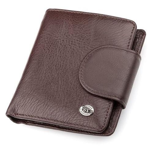 Женский кошелек ST Leather Accessories 18498 ST4 15 Коричневый