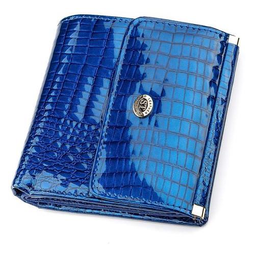 Женский кошелек ST Leather Accessories 18356 S Синий
