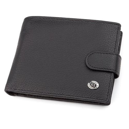 Мужской кошелек ST Leather 18328 (ST137) Черный