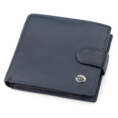 Мужской кошелек ST Leather 18341 (ST138) Синий
