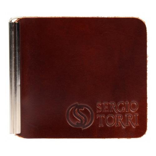 Кожаный зажим для денег Sergio Torri 0001