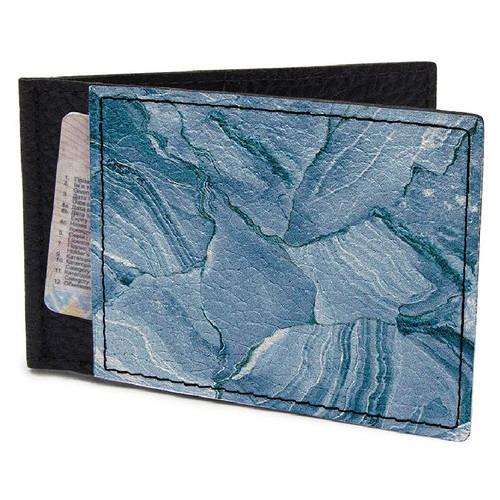 Кошелек-зажим DevayS Maker DM 17 Мрамор голубой синий (30-0117-435)