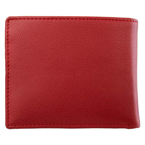 Кошелек мужской кожаный Smithcanova FUL-26826-red-black