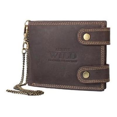 Кошелек мужской кожаный Always Wild DNK2900-BIC-brown