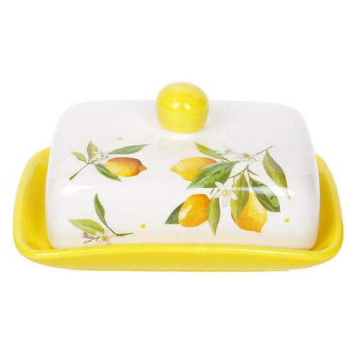 Масленка Сочные лимоны Bona Di DM-1902-Y