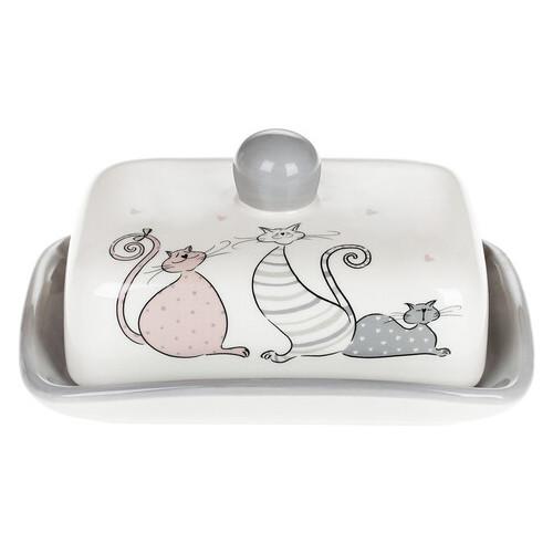 Масленка керамическая Bona Di Веселая Семейка DM-559-Q