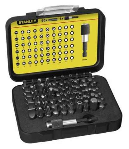 Набор бит Stanley Expert 1-13-902 25мм 60шт