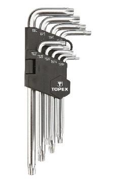 Ключи звездочки Topex TS10-50 9 шт (35D951)