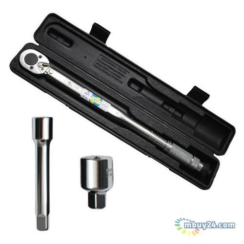 Динамометрический ключ 1/2 28-210NM Intertool XT-9007