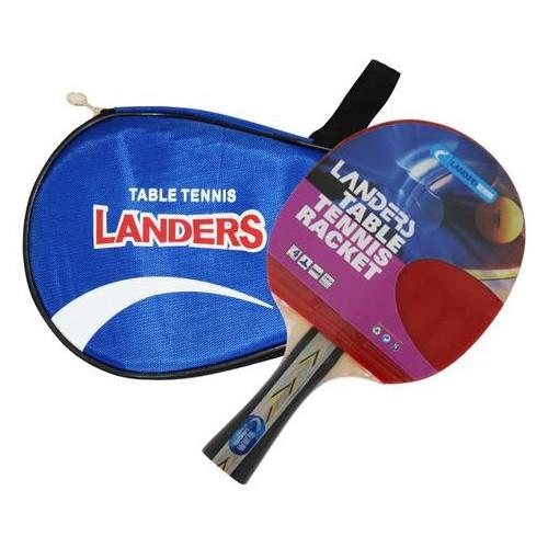 Ракетка для настольного тенниса Landers 4 Star в чехле (СН 084-04)