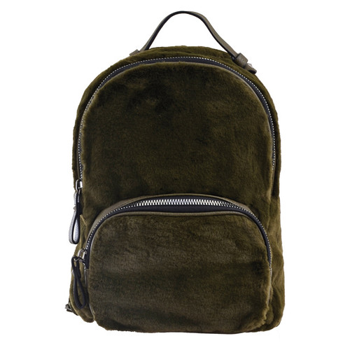 Рюкзак женский Yes YW-10 зеленый (556904)