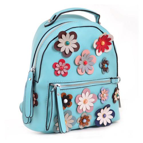 Сумка-рюкзак Yes Weekend 23х21х10 см Зеленый (554417)
