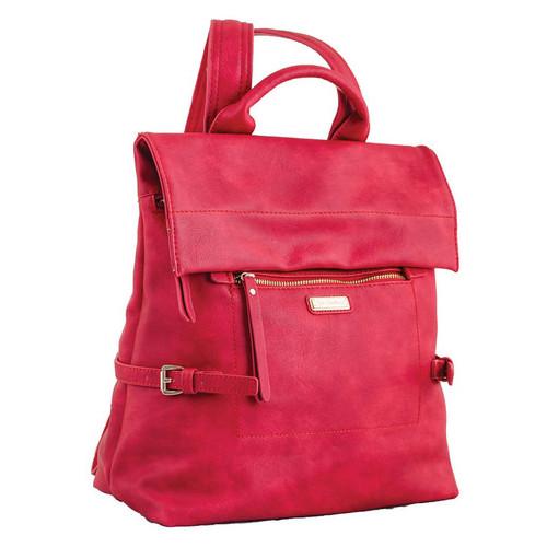 Сумка-рюкзак Yes Weekend 29х33х15 см Красная (553225)