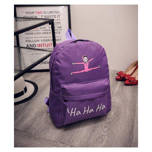 Веселый тканевый рюкзак Buma Хахаха (РК-332)