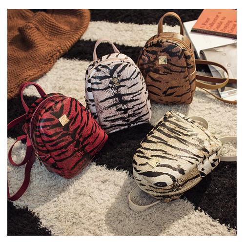 Стильный мини рюкзак сумочка с тигровым окрасом (РК-379)