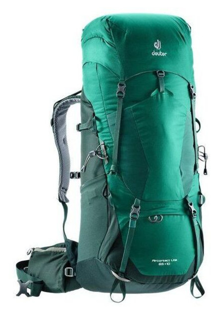 Рюкзак Deuter Aircontact Lite 65+10 (Салатово-зелёный alpinegreen-forest)