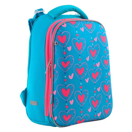 Рюкзак школьный каркасный Yes H-12 Romantic hearts  (556034)