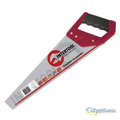 Ножовка по дереву с каленым зубом 500 мм Intertool HT-3103