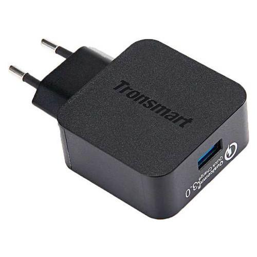 Сетевое зарядное для мобильного устройства Tronsmart WC1T Quick Charge 3.0 Wall Charger Black
