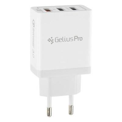 Зарядное устройство Gelius Pro Dominion QC3.0 GP-HC04 3USB 3.1A White (70600)