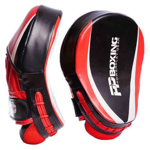Лапы боксерские PowerPlay 3050 PU Черно-красные
