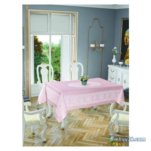 Скатерть Tabe Tropik Home Priencly Pink 5698-7 150x220