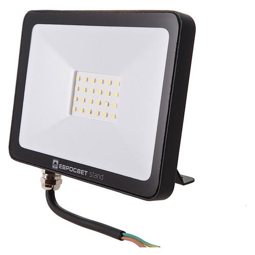 Прожектор светодиодный ЕВРОСВЕТ 30Вт 6400К EV-30-504 STAND-XL 2400Лм
