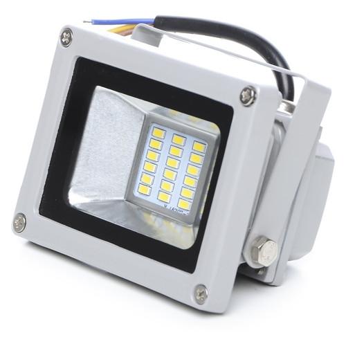 Прожектор светодиодный Brille HL-20/10W LED SMD CW IP65