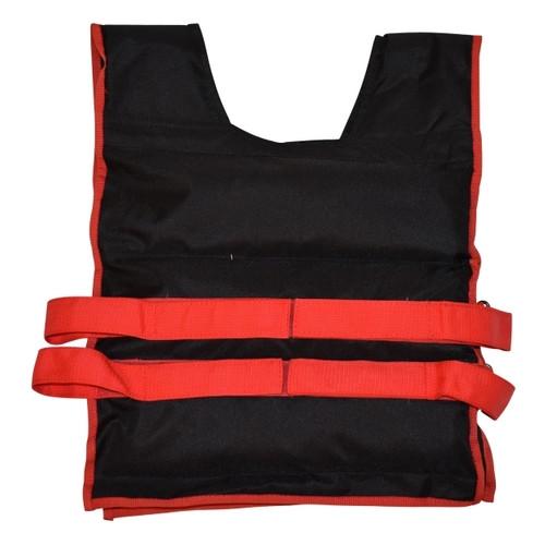 Жилет утяжелительный Champion 6 кг черно-красный, фиксированный вес (00356)