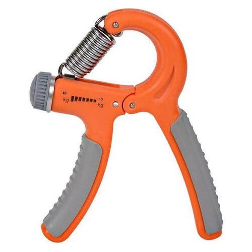 Эспандер кистевой-пружинный ножницы Power System PS-4021 Power Hand Grip Orange (PS-4021_Orange)