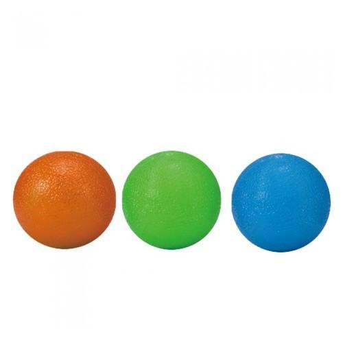 Мячик-тренажер для кисти LiveUp Grip Ball 3 шт. в наборе 4,5x6,5 (LS3311)