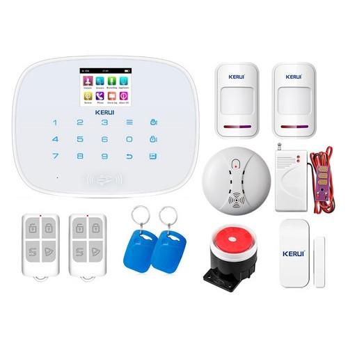 Комплект сигнализации Kerui security G19 Pro для 1-комнатной квартиры, белая