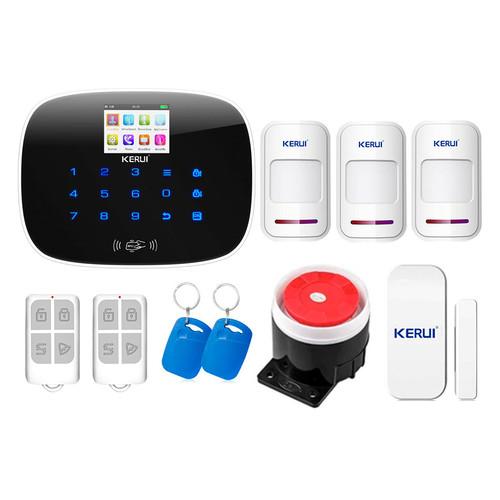 Комплект сигнализации Kerui security G19 для 2-комнатной квартиры
