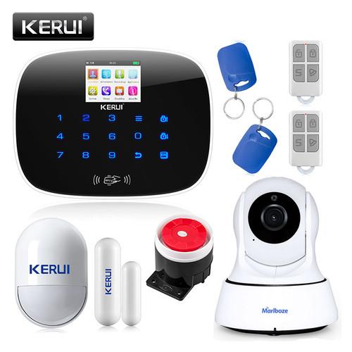 Комплект сигнализации Kerui security G19 с видео Wi-Fi IP-камерой