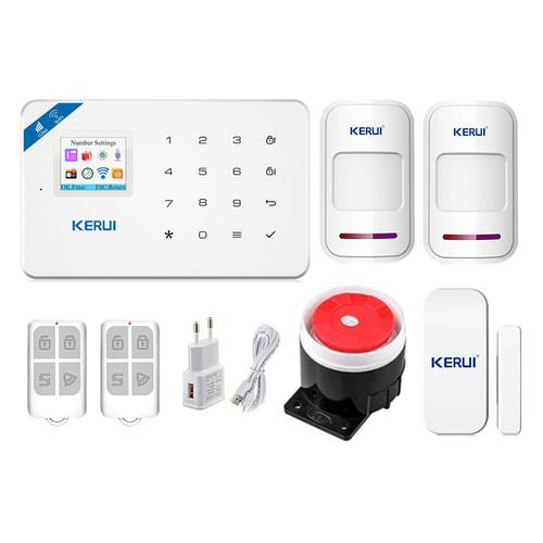 Комплект сигнализации Kerui security Wi-Fi W18 для 1-комнатной квартиры