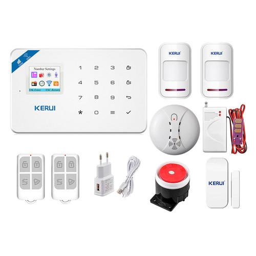 Комплект сигнализации Kerui Wi-Fi security W18 Pro для 1-комнатной квартиры