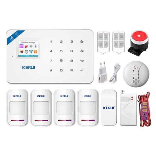 Комплект сигнализации Kerui Wi-Fi security W18 Pro для 3-комнатной квартиры