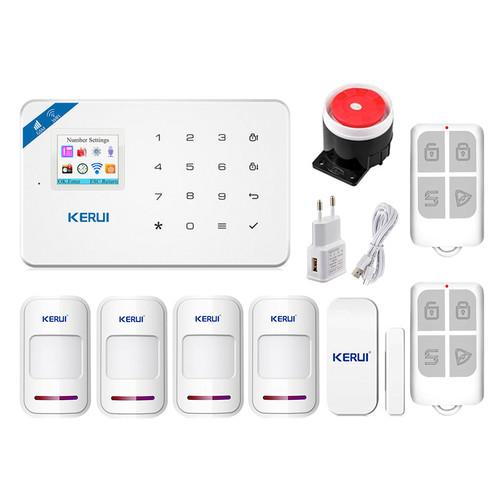 Комплект сигнализации Kerui Wi-Fi security W18 для 3-комнатной квартиры